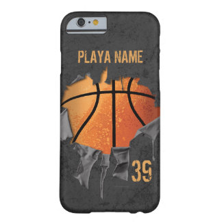 Torn Basketball Barely There iPhone 6 Case
