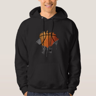 Torn Basketball Hoodie