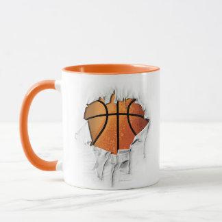 Torn Basketball Mug