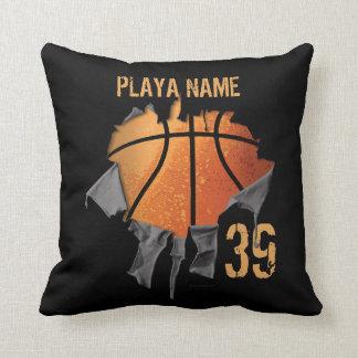 Torn Basketball Pillow
