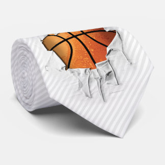 Torn Basketball Tie