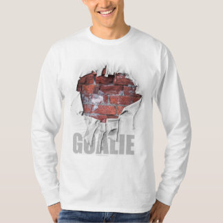 Torn Brick Wall Goalie (Soccer) T-Shirt