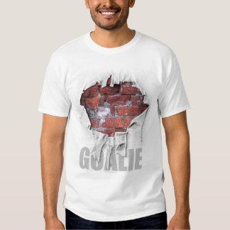 Torn Brick Wall Goalie (Soccer) T-shirt