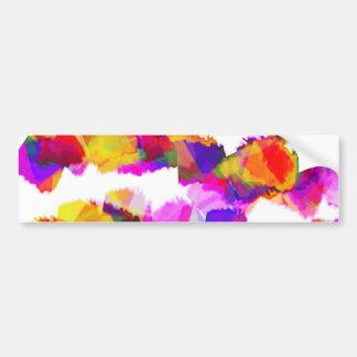 Torn Colours Bumper Sticker