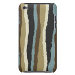 Torn Edges Wavy Striped iPod Touch Case