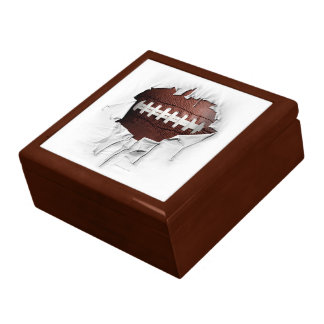 Torn Football Gift Box