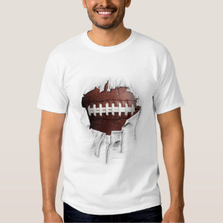 Torn Football T-Shirt