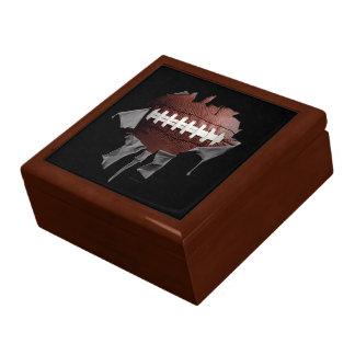 Torn Football Tile Gift Box