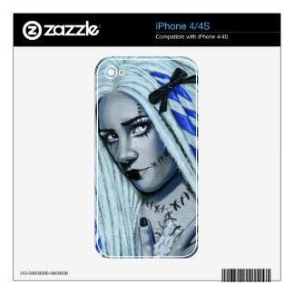 Torn Gothic Ragdoll Fantasy Art iphone 4/4S skin iPhone 4 Skin