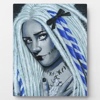 Torn Gothic Ragdoll Fantasy Art Plaque