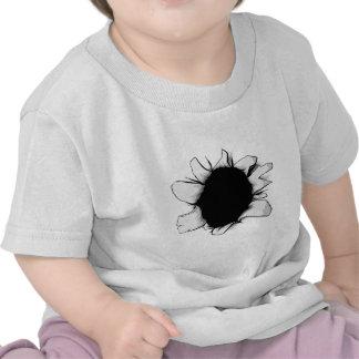 Torn hole shirt