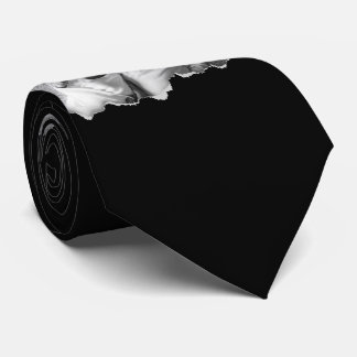 Torn Out Two Family Photos Custom Neck Tie