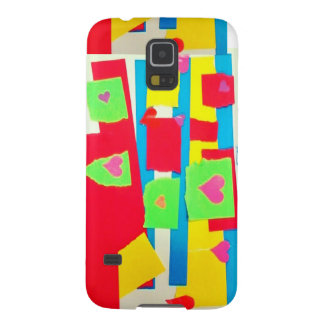 Torn Paper Collage Cases For Galaxy S5
