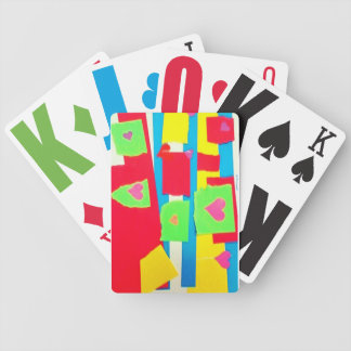Torn Paper Collage Card Deck
