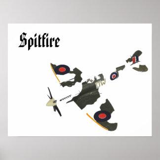 torn spitfire 2, Spitfire Poster
