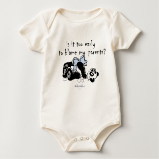 TORN TEDDY BEAR INFANT ONE PIECE BABY BODYSUIT