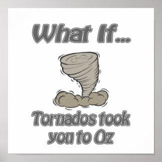 Tornado a la onza póster