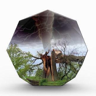 Tornado Acrylic Award