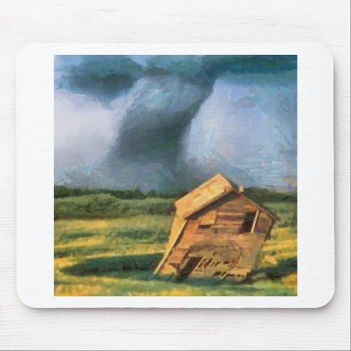 Tornado Alfombrillas De Raton