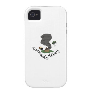 Tornado Alley Vibe iPhone 4 Covers
