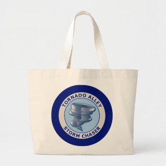 Tornado Alley Storm Chaser Tote Bags