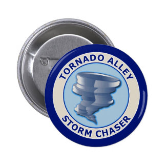 Tornado Alley Storm Chaser Button