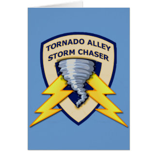 Tornado Alley Storm Chaser Card