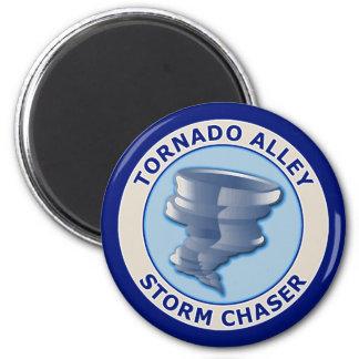 Tornado Alley Storm Chaser Magnet