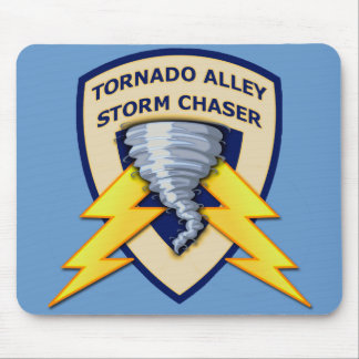Tornado Alley Storm Chaser Mousepads