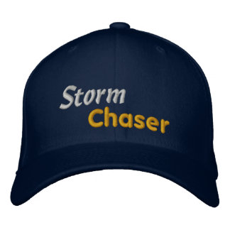Tornado Bad Weather Storm Chaser Storm Spotter Embroidered Baseball Cap