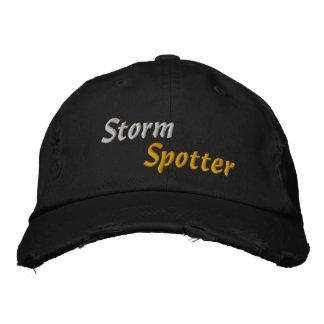 Tornado Bad Weather Storm Chaser Storm Spotter Embroidered Hat