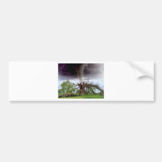 Tornado Bumper Sticker