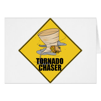 Tornado Chaser Greeting Card