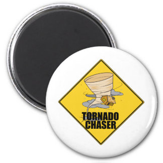 Tornado Chaser 2 Inch Round Magnet