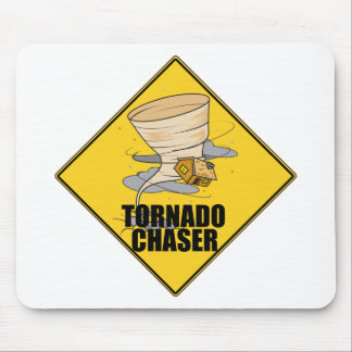 Tornado Chaser Mouse Pads