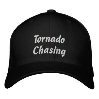 Tornado Chasing Hat Embroidered Baseball Cap
