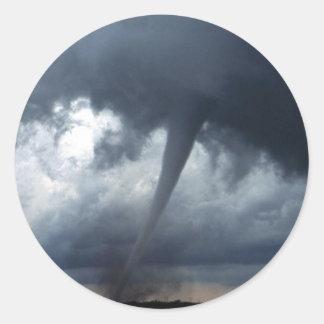 Tornado Classic Round Sticker