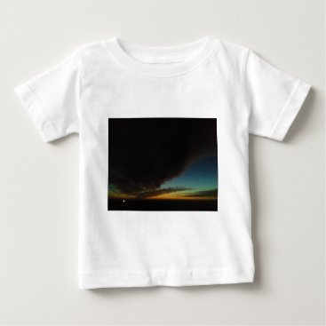 Beach Themed Tornado cloud baby T-Shirt