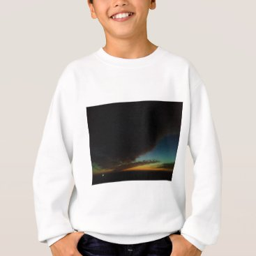 Beach Themed Tornado cloud sweatshirt