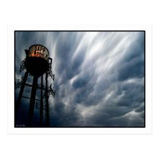 Tornado clouds over Omaha Postcard