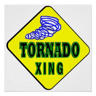 Tornado Crossing Poster