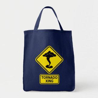 Tornado Crossing Tote Bag