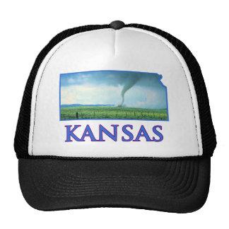 Tornado de Kansas Gorras