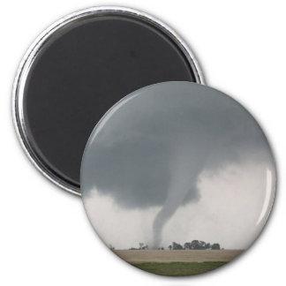 Tornado del campo imán redondo 5 cm