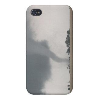 Tornado del campo iPhone 4 funda