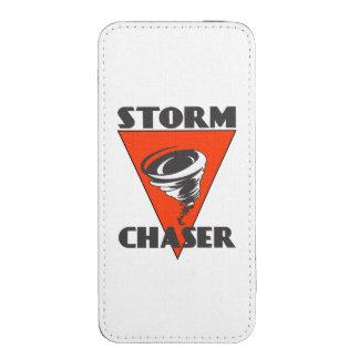 Tornado del cazador de la tormenta y triángulo bolsillo para iPhone
