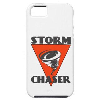 Tornado del cazador de la tormenta y triángulo iPhone 5 carcasas