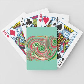 Tornado, diseño digital del arte barajas de cartas