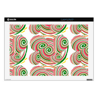 Tornado, diseño digital del arte calcomanía para 43,2cm portátil