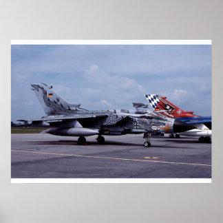 Tornado ECR German Air Force Poster